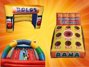 Alquiler venta de inflables y saltarines, eventos, empresariales Fiestas infantiles, decoracion infantil, alimentos y bebidas,personajes, titeres gigantes, payasos y magos, empresas de recreacion, recreacionistas